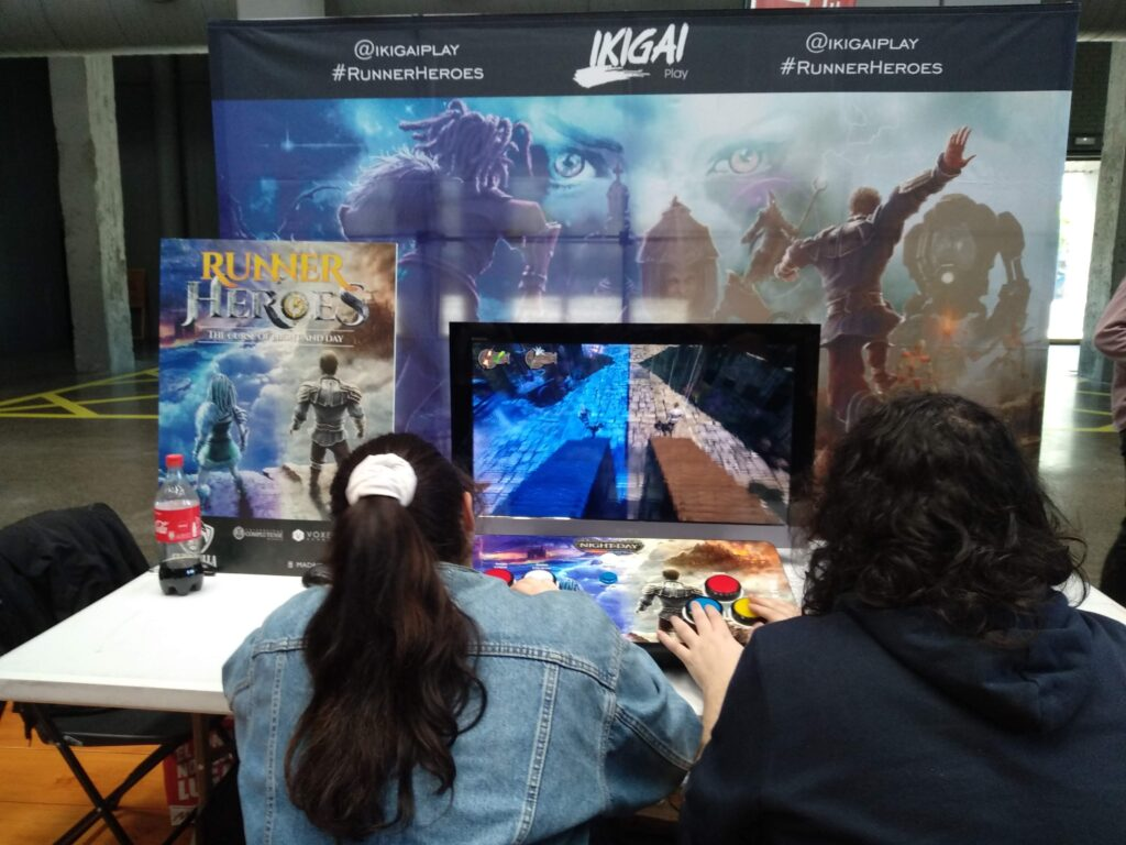 Runner Heroes en guerrilla game festival