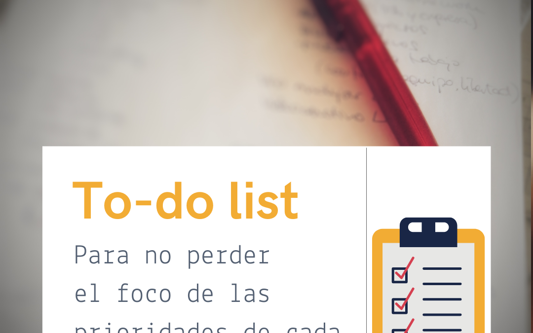 No pierdas la cabeza: Cómo organizar las tareas de cada día