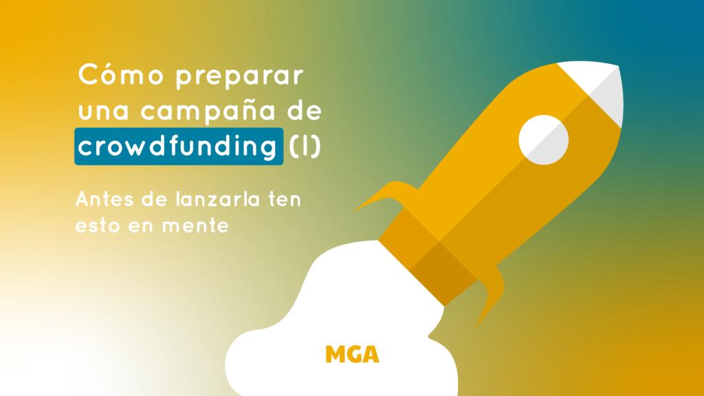 preparar una campaña de crowdfunding