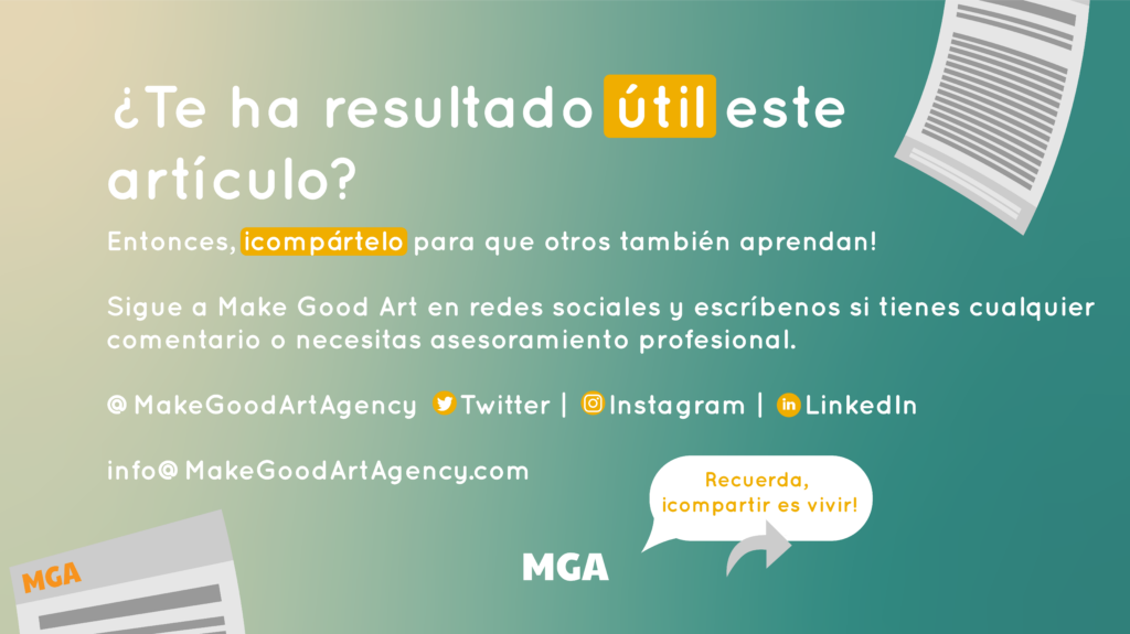 Make Good Art guarda y comparte