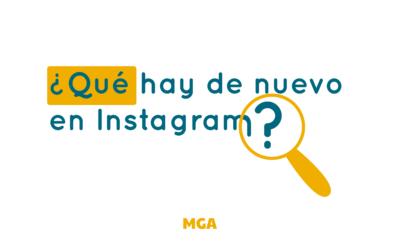 ¿Qué hay de nuevo? Novedades en Instagram, más orientado al ecommerce